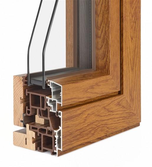 infissi in legno alluminio roma