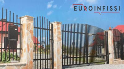 ferro recinzione su misura